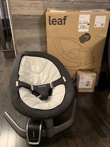 Nuna Leaf Baby Swing + Nuna Leaf Wind Rocking Device