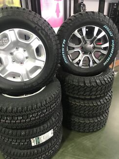 Ford ranger Wheels and Tyre packadge
