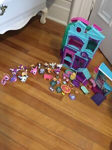 Littlest Pet Shops and stores