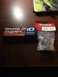 Traxxas battery and motor