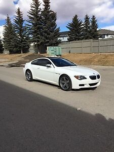 2007 BMW M6 White on White Low Kms !