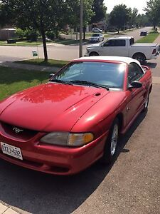 1994 mustang convertible great shape