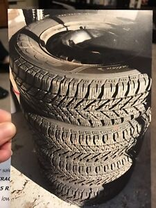 GOODYEAR ULTRA TRAC WINTER TIRES (4)