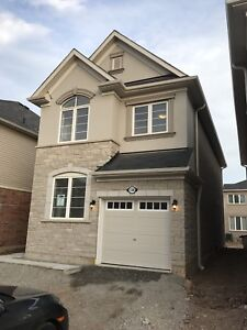 New detached house in Waterdown for rent available now