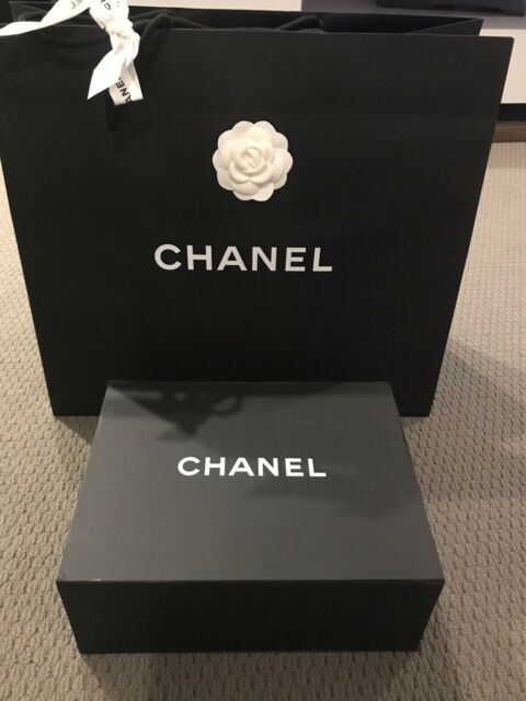 0aed0ac8be29 Authentic Chanel empty box with paper bag | Bags | Gumtree Australia ...