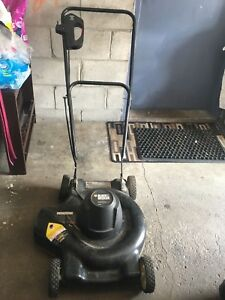 Black&decker electric grass mower