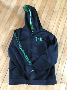 Youth Large Under Armour Zip up Hoodie