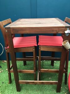 T Outdoor Bar Table For Two