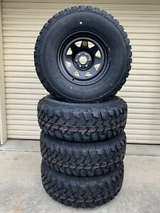 Brand new ROH Navara 16x8's and brand new 285/75R16 M/T's Caboolture Caboolture Area Preview