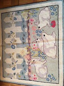 4'x3' wool rug