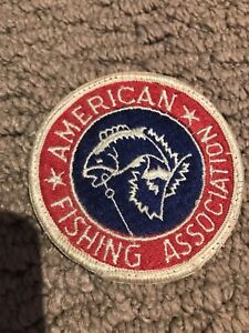 American fishing association patch