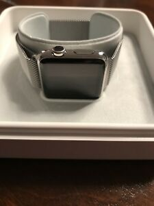 Apple Watch série 1 stainless 38mm