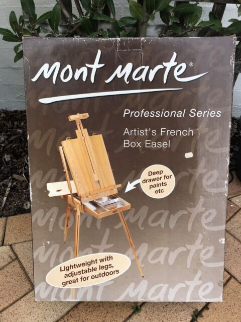 Artist's French Box Easel - Mont Marte | Other Antiques, Art