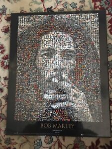 Bob Marley photo mosaic