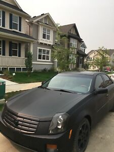 2003 Cadillac CTS MATTE BLACK Motovated seller
