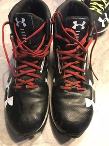 Size 12 Under Armour Cleats