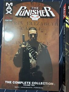 Punisher max comics  complete vol 2 and vol 3