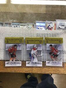 2007-08 Toews  Price  Kane  Ice Premieres Rookies  hockey cards