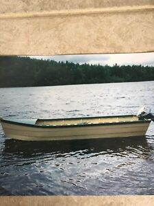 16 ft wooden boat