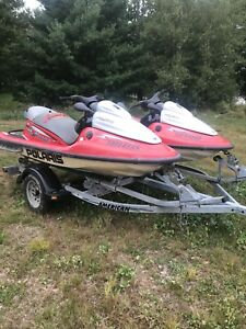 2-2002 Polaris Virage TX 1200