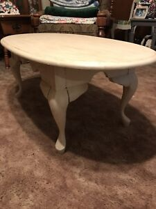 Beautiful Antique Refinished Coffee Table. SALE.