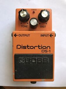 Original 1982 Boss DS-1 Distortion w/ Original Toshiba Chip