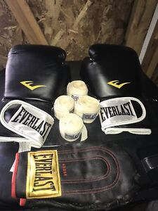 Everlast Martial Arts Set with extra pair of gloves