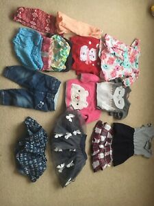 Baby girl clothes (6-12 months)