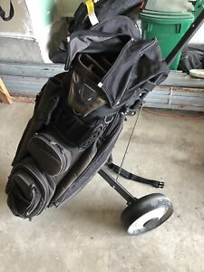 Knight golf bag and walker!