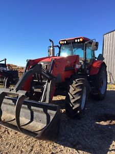 2012 McCormick MTX135 tractor with loader