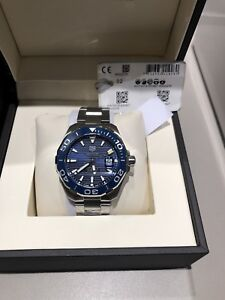*brand new* tag heuer, montre homme, rolex, omega, breitling