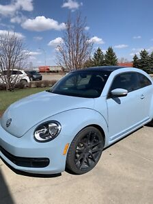2012 VW Beetle, Limited Edition, low kms