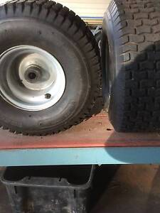 FOR SALE RIDE-ON-MOWER TYRES AND RIMS North Richmond Hawkesbury Area Preview