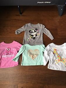 Girls 6-9 month long sleeve