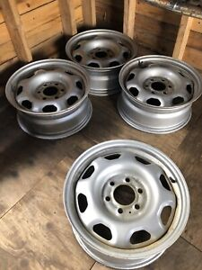 4 x 17 Inch Ford Truck Rims with Tire Pressure Sensors