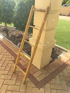 Old wooden ladder Canning Vale Canning Area Preview