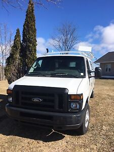 2009 ford E250 work van