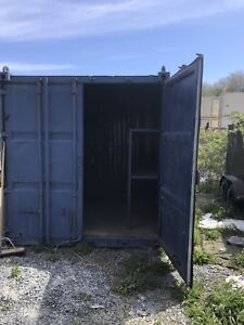 10' shipping container / SeaCan