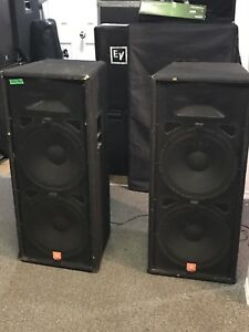 DJ Speakers & Bass Bins NEED TO SELL BY NOV 30!!