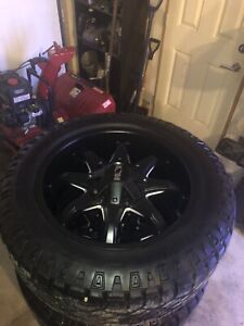 Ion rims for Ford or Gmc 1/2ton