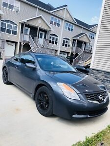 Altima coupe looking to trade for a bigger car or suv