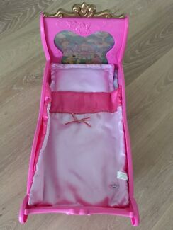 Baby Born play doll bed