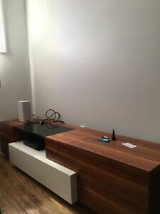 Low modern tv unit
