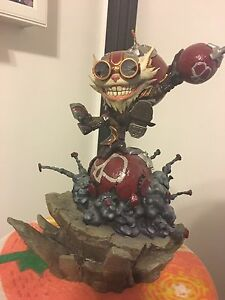 League of Legends Official Ziggs Statue
