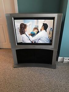 "36"" Sony TV with matching stand"