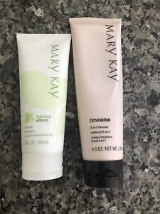 Mary Kay Moisturizer and Cleanser