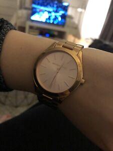 Michael Kors Runway Slim Watch Rose Gold