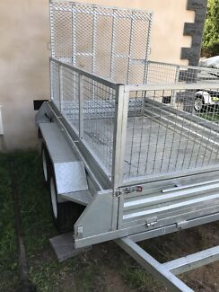 Trailer hire 8x5 with ramp Campbelltown Campbelltown Area Preview