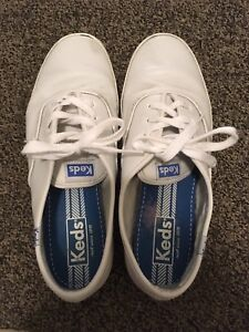 Keds women's original leather sneaker size 6.5