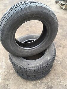 195/70R14 GOODYEAR CONQUEST - 3 marching used tires